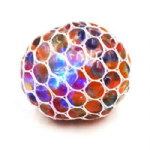 Colour Bubble Stress Mesh Ball